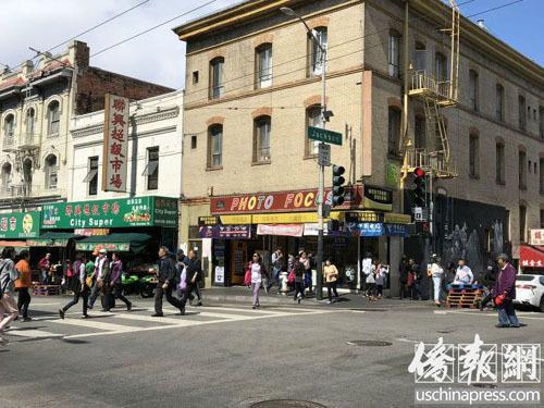 舊金山中國城將安裝公共安全攝像機增加巡邏警員