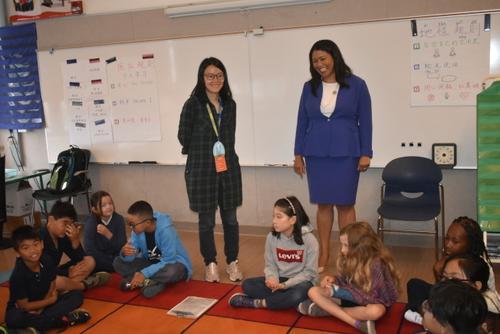 旧金山市长探访华人较多学校宣布千万津贴试点计划