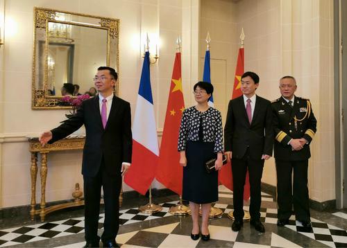 欧洲时报:我国驻法使馆举办庆新我国建立70周年招待会