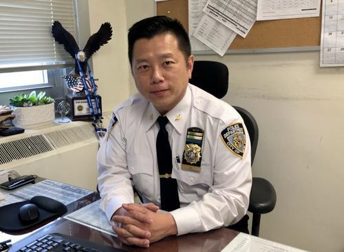 紐約華裔警官吳銘恒:願把經驗分享給年輕警員