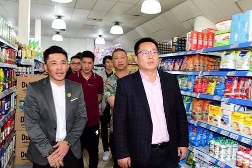 駐阿根廷使館領事走訪華人超市叮囑提高防范意識