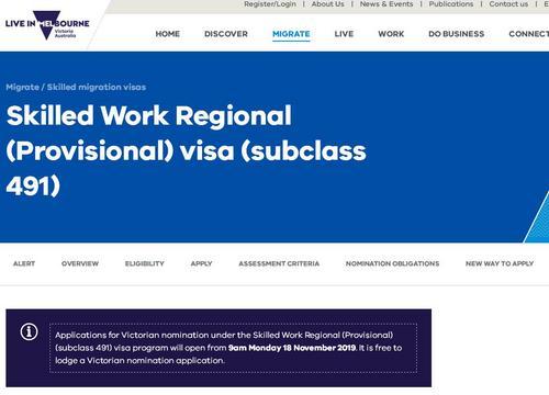 澳大利亚两类新边远地区签证将开放申请