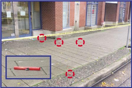 加拿大温哥华华埠现绑管状物可疑包裹 警方封街引爆