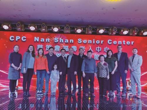 纽约华策会老人中心办餐会500位华裔耆老齐聚一堂