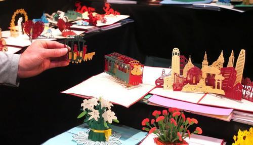 美圣荷西丰收节作品展中国特色产品惊艳亮相
