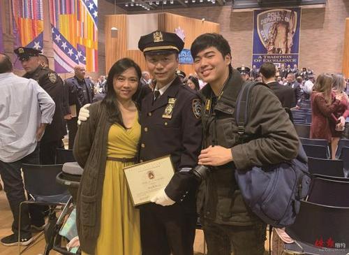 纽约警监李浩然:35岁从警 一切皆有可能