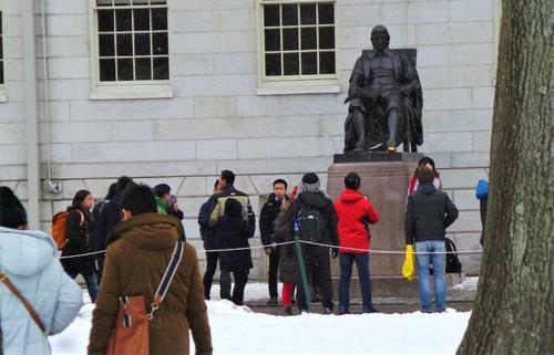 美国哈佛招生歧视案原告上诉司法部仍继续调查