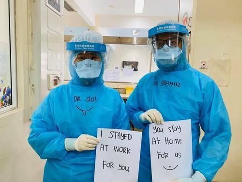 取消蜜月赴前线马来西亚华裔医生感人贴文逾3万人赞