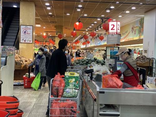 纽约华人超市肉食供应吃紧业者承诺不会涨价断货