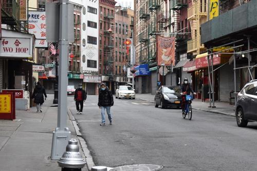 纽约疫情趋缓华埠餐馆陆续营业