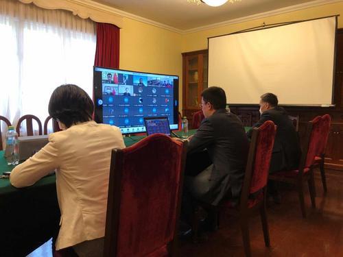 秘鲁公言报:援秘中国医疗专家与侨胞交流防疫知识