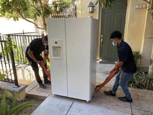 居家避疫期间冰箱走俏旧金山华人买冰箱3个月到货
