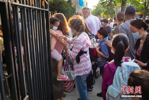 纽约市公校开课华人家长陷两难支持返校但忧心疫情