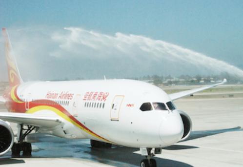 中国侨网-北京直飞美国圣荷西航线正式开通