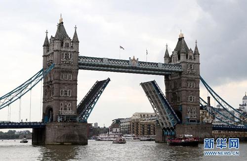 中国侨网-伦敦塔桥