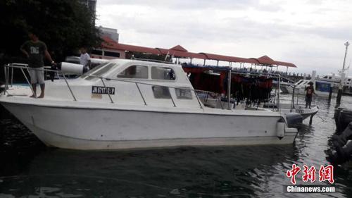 快艇,在哥打基纳巴卢市前往沙巴著名旅游景点环滩岛