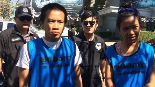 泰国情侣抢劫中国女游客被捕称因情人节缺钱花