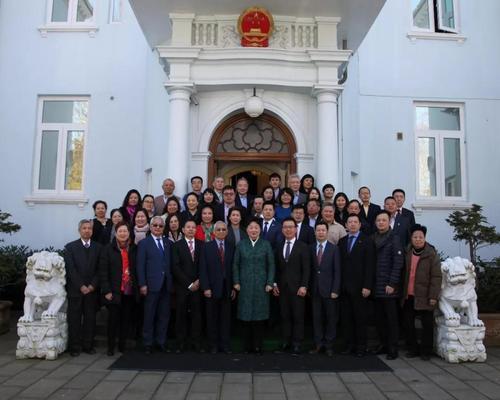 驻丹麦使馆举行侨务暨领保工作座谈会