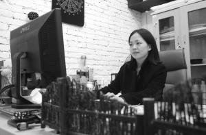 叶金琳在工作中。记者刘波