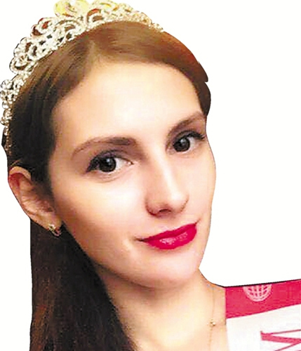俄罗斯23岁姑娘娜斯佳