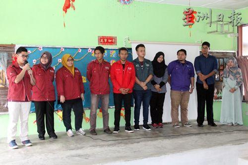 中国侨网来自彭亨大学的10位非华裔学生分享各自学习华文的经历。(马来西亚《星洲日报》)