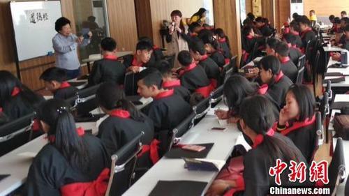 80余位泰国华裔青少年江西学道文化