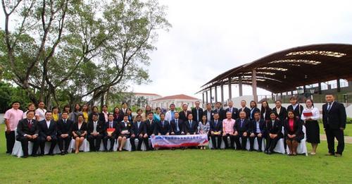 中国侨网2018年泰南华文教育工作年会在普吉举办。(中国驻宋卡总领馆网站)