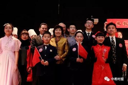 中国春节文化进希腊校园传统文化在这里生根发芽