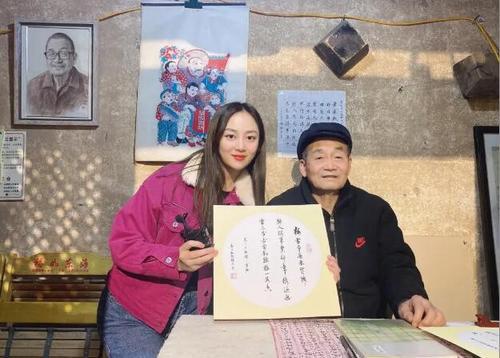 中国华文教育基金会实景课堂《木版年画》开课