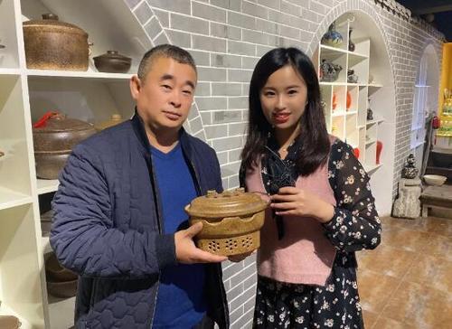 中国华文教育基金会实景课堂《平定砂器》开课