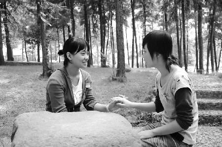 会汉语好找工作 东阳技校里来了两位韩国留学