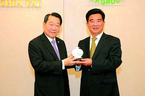 中国侨网-汕头市委书记率团访泰 凝心聚力打造特区升级版