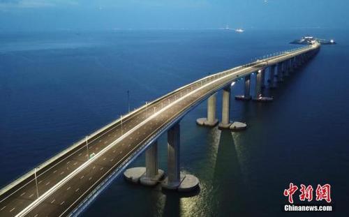 港珠澳大桥开通仪式10月23日在珠海举行