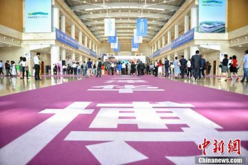 2019betway必威提款·天津华博会即将开幕 会展中心准备就绪