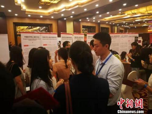 """中国侨网""""留・在上海""""系列活动现场。 许婧 摄"""