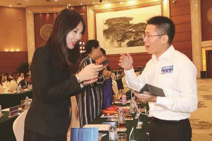 中国侨网海归创业者与投资人交流对接(深圳侨报/柯东波 图)