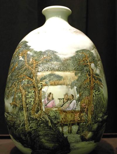景德镇陶瓷学院陶瓷艺术作品展 在港举行