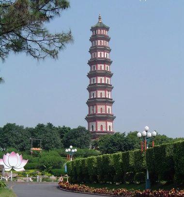 莲花塔建于明万年四十年(1612年),原名文昌塔.