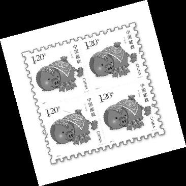 融合当地文化 近百国家和地区发行生肖邮票图片