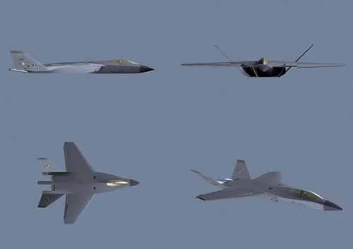 北航学子设计中国第四代战斗机