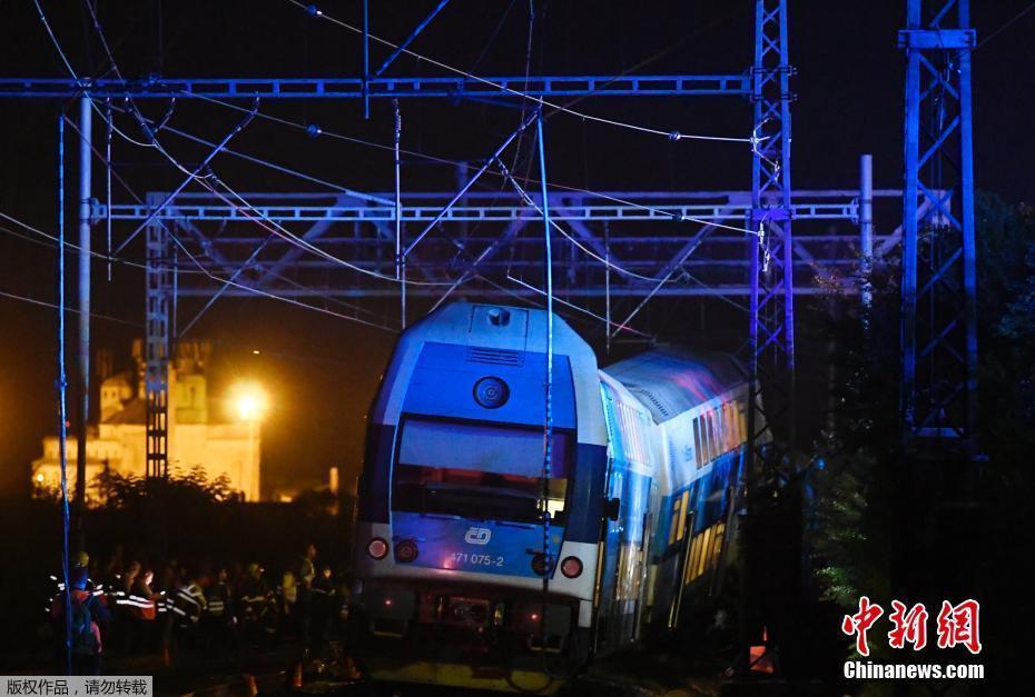 捷克再发生火车相撞事故 或造成60名乘客受伤
