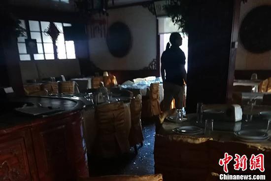 探访距黎巴嫩爆炸点约3公里中餐馆