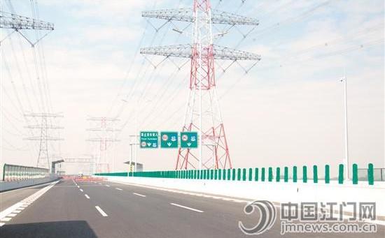 广中江高速荷塘至龙溪段计划本月28日通车