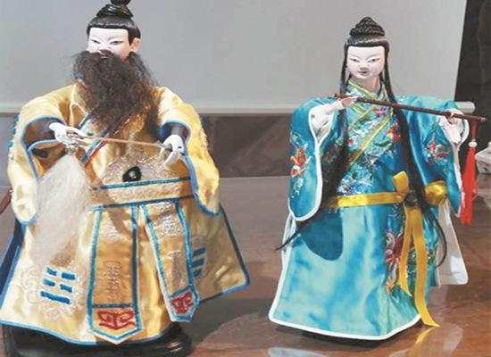 提线木偶表演,以及木偶头彩绘diy将轮番上演