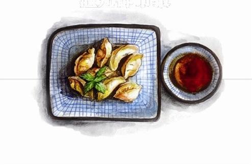 用手绘表现美食 90后妹子画出温州小吃别样味道