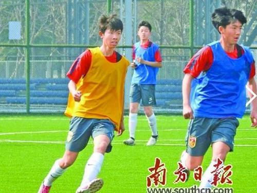 2008年,南海成立青少年足球队.