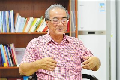中国侨网潘家海。海报集团全媒体中心记者陈卫东摄
