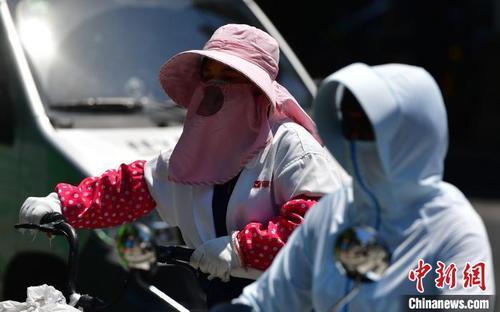 福州发布今年首个高温红色预警 局部超过40℃