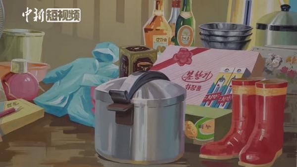 原版朝鲜宣传画 揭秘朝鲜人民生活