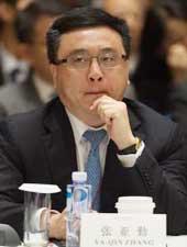 <p>张亚勤:</p>  <p>百度总裁</p>